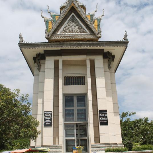 Historical site of Kamer Rouge Regime