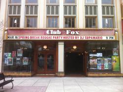 SUPA @ CLUB FOX