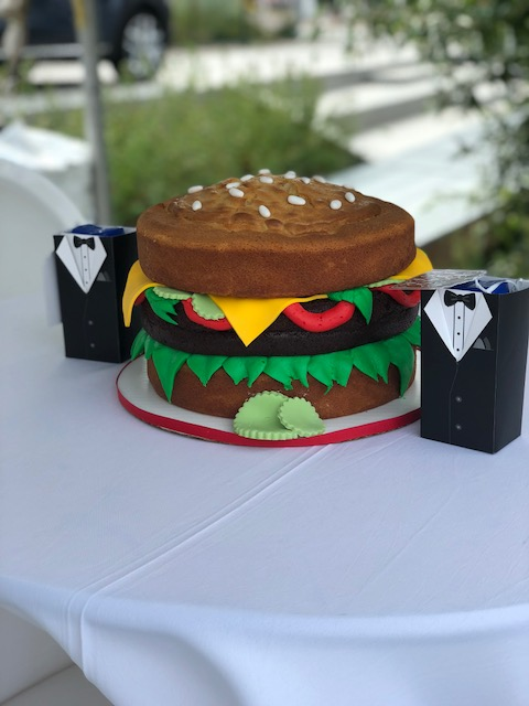 Burger Battle Burger Cake