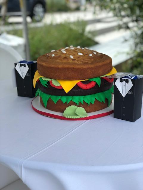 Burger Battle Burger Cake