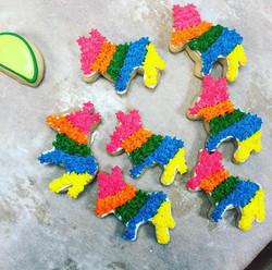 Piñata Cut Sugar Cookies
