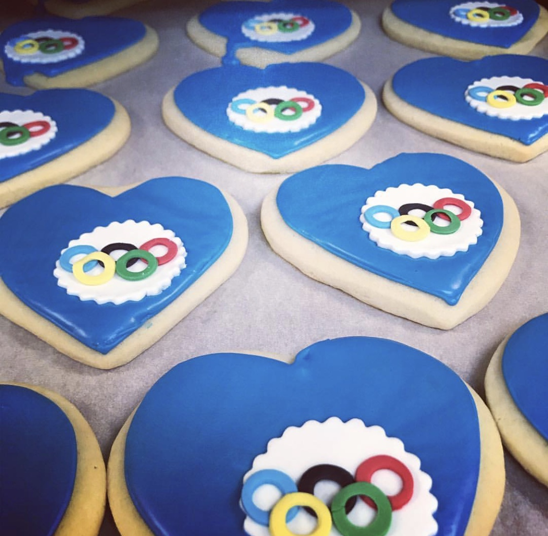 Olympic Cut Sugar Cookies