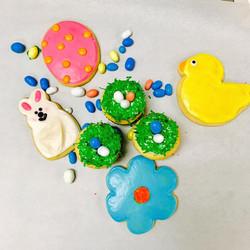 Easter Cut Sugar Cookies