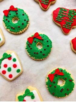 Holiday Cut Sugar Cookies