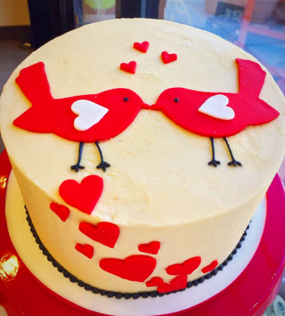 Two Birds Cake