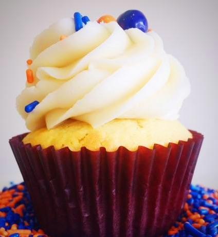 Bronco Cupcake