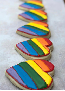 Pride Cut Sugar Cookies