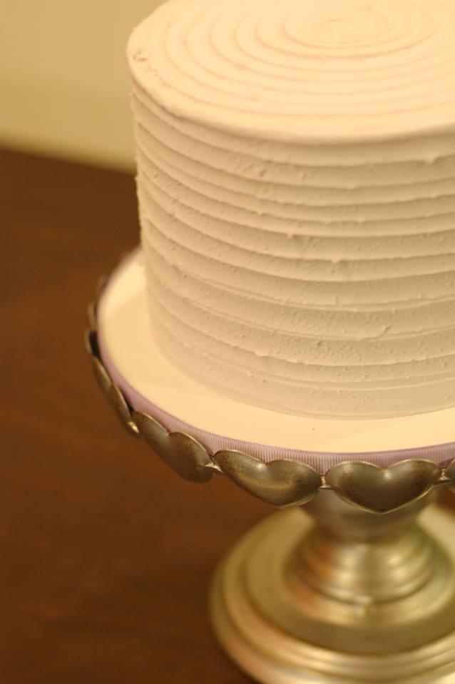 Simple Ridged Cake