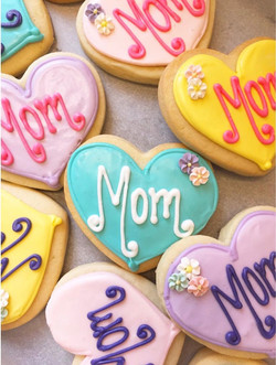 Mother's Day Cut Sugar Cookies