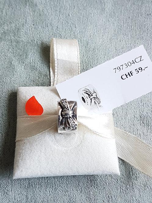Pandora Clip mit Zirkonia
