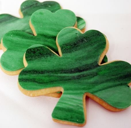 St Pat's Cut Sugar Cookies
