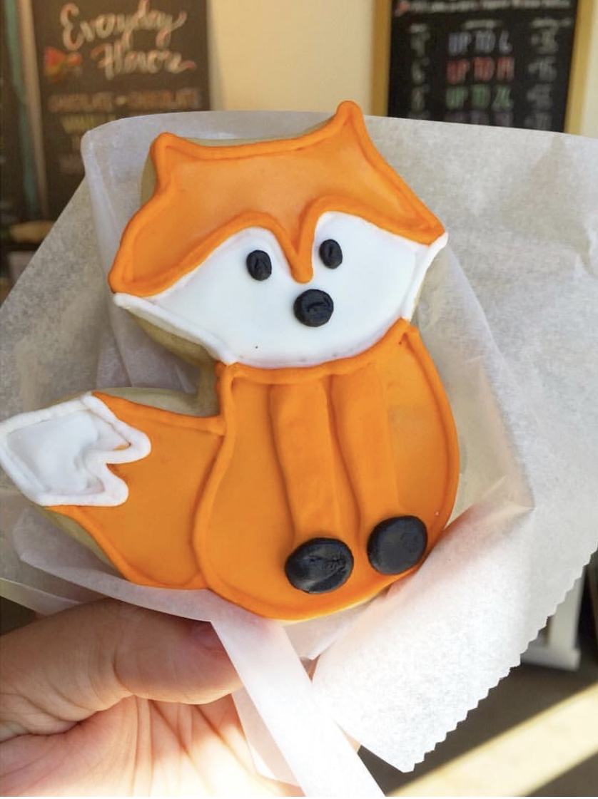 Foxy Cut Sugar Cookies