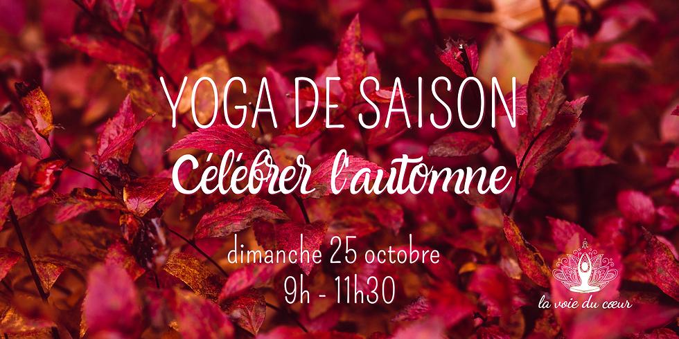 Yoga de saison - Célébrer l'automne