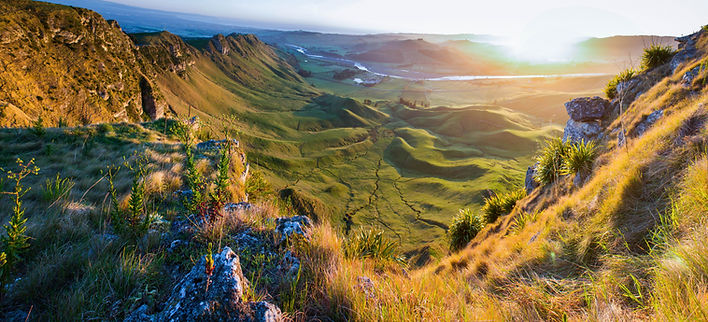 Solnedgång i Mountain
