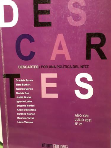 Revista Descartes N° 21- Por una polític