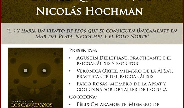 """Presentación de """"Los Casquivanos"""", de N. Hochman"""