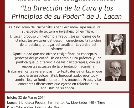 Psicoanálisis en Tigre