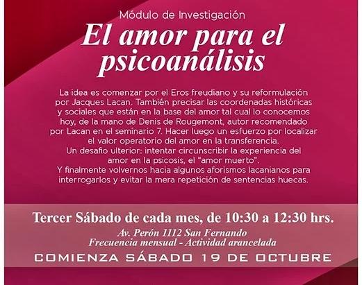 EL AMOR PARA EL PSICOANÁLISIS
