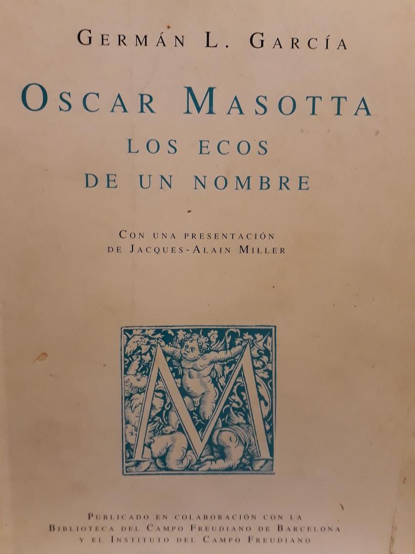 Oscar Masotta- Los ecos de un nombre
