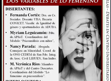 """""""Mujer-madre: dos variables de lo femenino"""""""