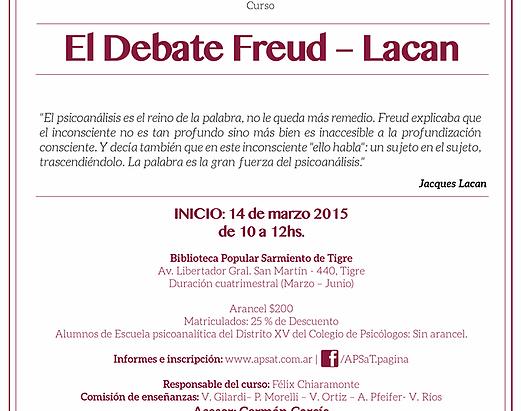 El Debate Freud - Lacan