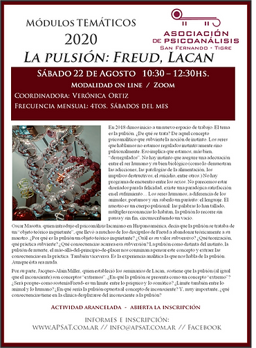 La pulsión: Freud, Lacan