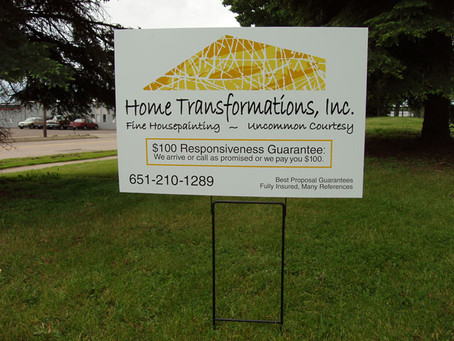 How To Get The Best Out Of Your Lawn Sign Advertisement