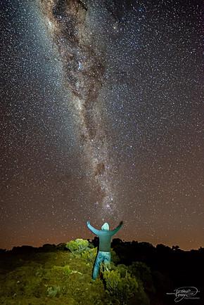 Voie Lactée au Maïdo.