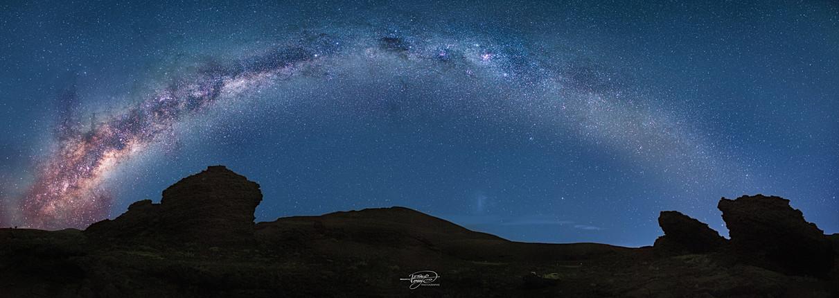 Voie Lactée au Volcan