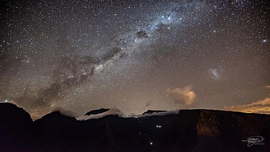 Voie Lactée depuis le Cap Noir