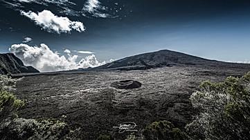 Vue du Piton de la Fournaise