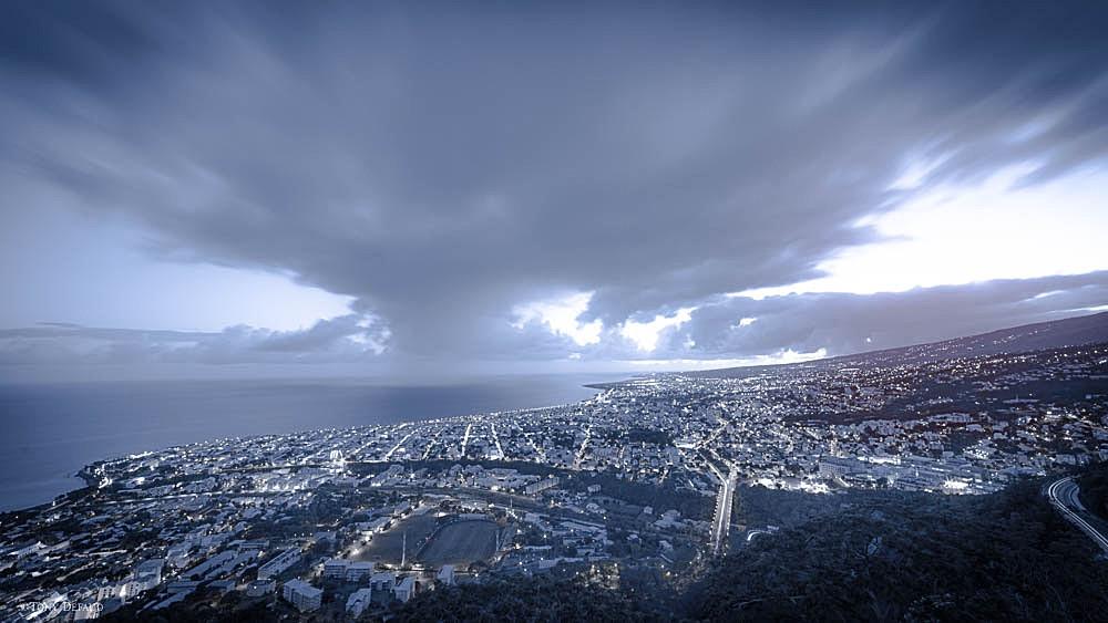 """Saint-Denis Réunion, un matin de """"grand"""" froid ;-)"""