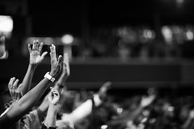 grayscale-photography-of-hands-waving-20