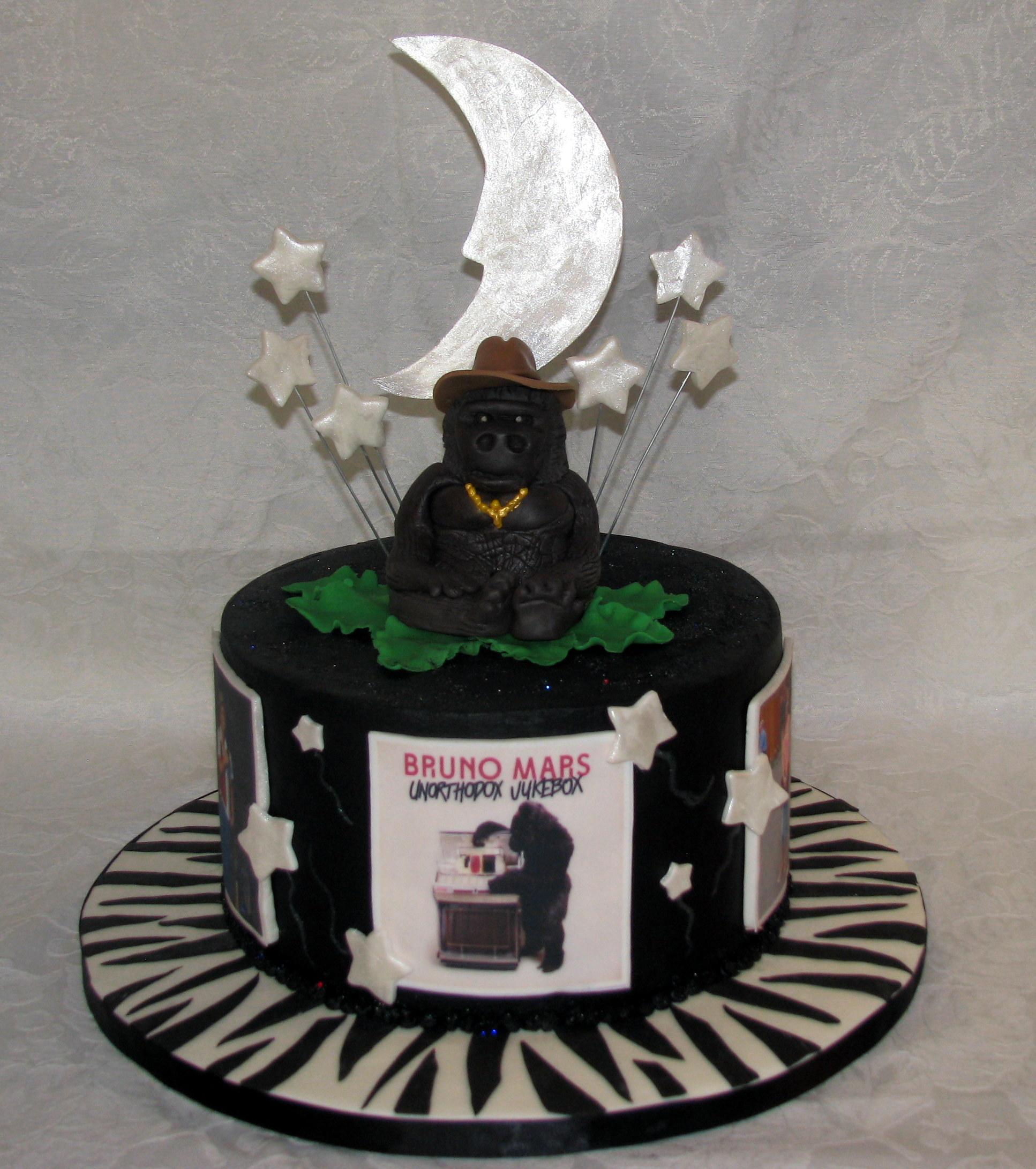 Mars Birthday Cake