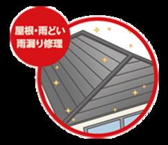 屋根・雨どい・雨漏り修理