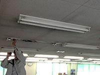 事務所LED照明器具の取替【施工中】