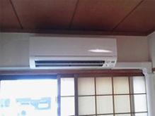 エアコン設置施工後
