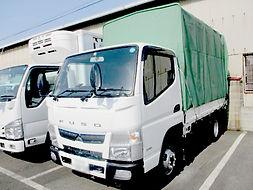三菱 キャンター幌付トラック