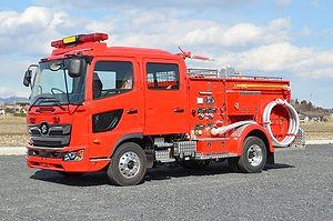 水槽付消防ポンプ自動車 水Ⅰ-A型