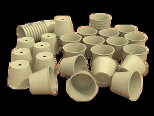 flower pot paper pulp packaging