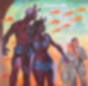 hubert rogers, crisis in utopia original artwork, science fiction illustration collection, the korshak collection, astounding science fiction, herald tribune artist, adventure magazine, argosy magazine