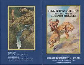 korshak collection, imaginative literature, science fiction fantasy art exhibit, society of illustrators museum of illustration, american and european illustrators