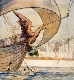 The pre-eminent illustrator of the Edwardian Age, whose imaginative work graces such children's classics as Alice in Wonderland, Grimm's Fairytales, and many others, he was born on September 19, 1867, in London, England, as one of twelve children.  A stude