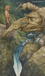brian froud original artwork, voice of the river illustration, original fairy artwork, brian fround artwork, the korshak collection, fantasy artwork collection, froud exhibition