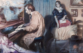 Segrelles, Jose- Chopin (unpublished), 1