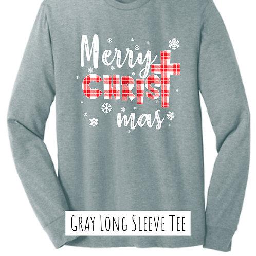 Merry CHRISTmas (Long Sleeve Tee)