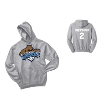 Grizzlies Baseball Hoodie