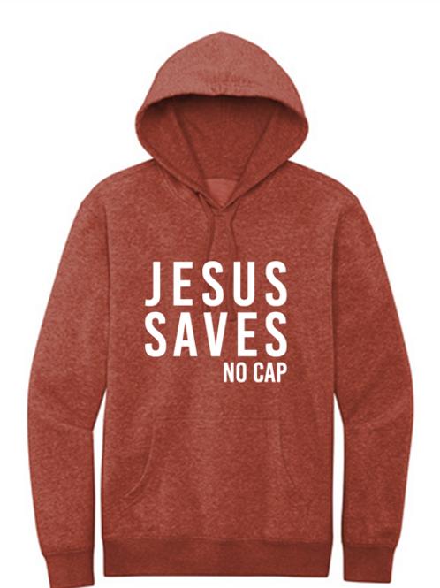 JESUS SAVES No Cap (Hoodie)