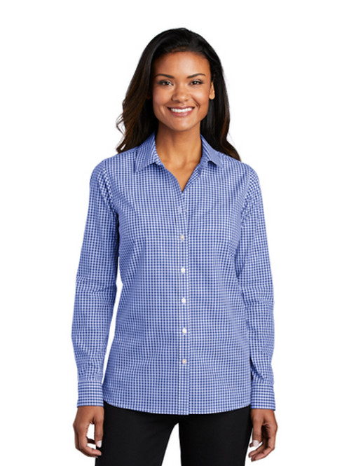 Port Authority ® Ladies Broadcloth Gingham Easy Care Shirt