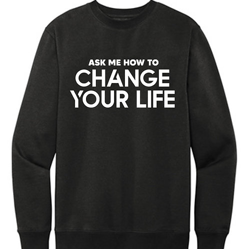 Ask Me How (Crew Sweatshirt)